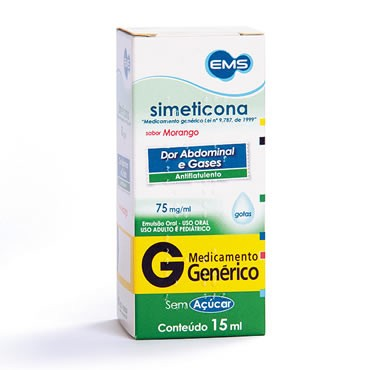 SIMETICONA 75MG GTS 15ML EMS