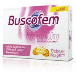 BUSCOFEM 400MG C/10 CAPS na internet