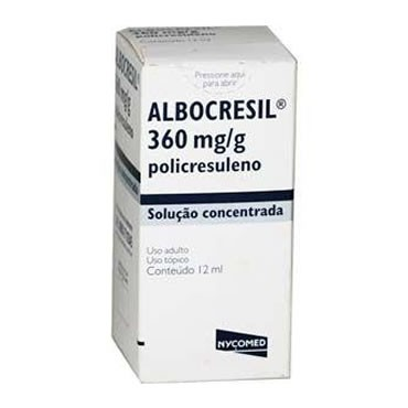 ALBOCRESIL SOL 12ML