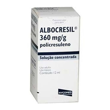 ALBOCRESIL SOL 12ML na internet