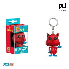 Pocket POP KEYCHAIN Fox in socks