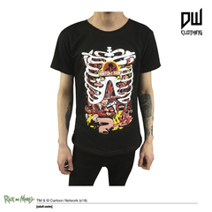 Remera Anatomy Park Rick & Morty