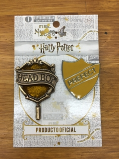 Pack Pines Head boy Hufflepuff
