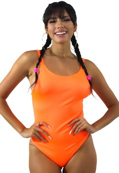Body Neon Basic Laranja REF: BN12