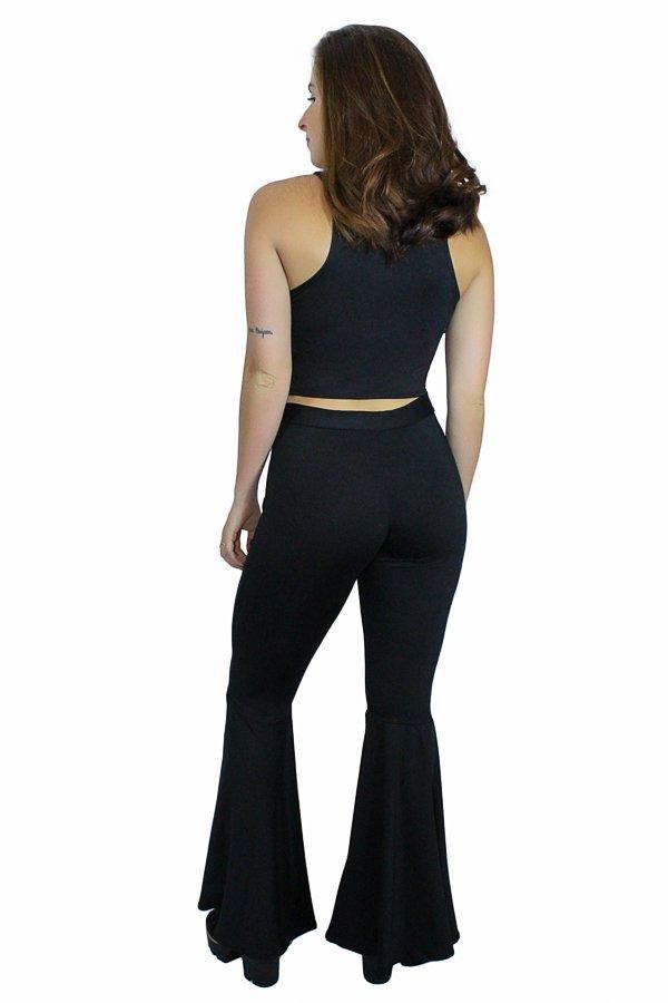 1ad13e26e ... internet Conjunto Calça Legging Flare e Cropped REF: C0034 - Racy Modas  - Vestidos Femininos para