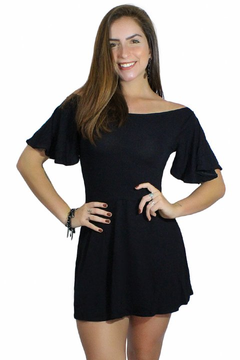 502c1ad5e8 Vestido Godê Manguinha Flare REF  V00201 - comprar online