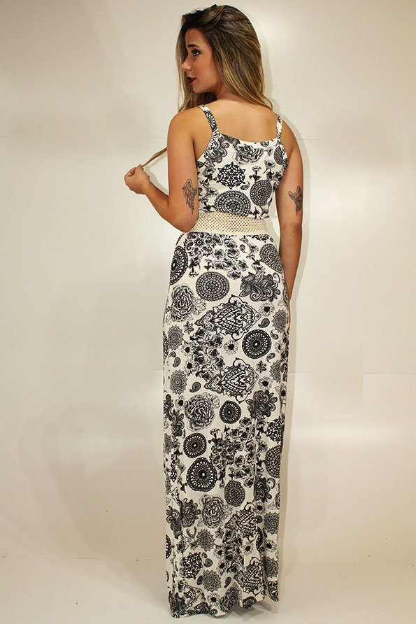 4c80822c22 ... Vestido Feminino Longo Estampado REF  LT0002 - Racy Modas - Vestidos  Femininos para Revenda no