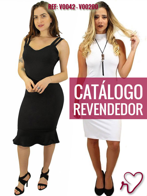 7351177c4cb790 Revender moda feminina por catálogo