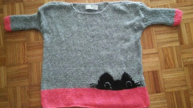 Sweater Cat Lover - Florencia Llompart