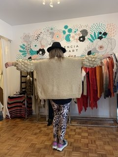 Cardigan Bubble camel