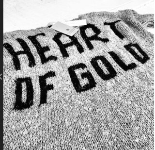 Sweater Heart of Gold - tienda online