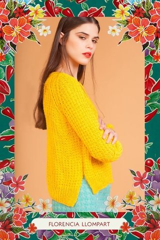 Sweater Jaguar - Florencia Llompart