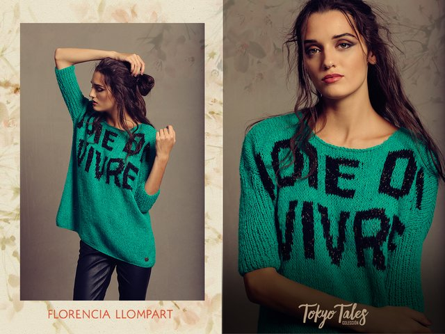 Sweater Heart of Gold - Florencia Llompart