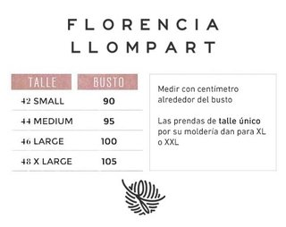 Cardigan Fancy - Florencia Llompart