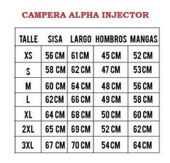 Campera Alpha Industries Injector Aviadora Original - comprar online