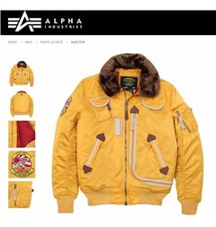 Imagen de Campera Alpha Industries Injector Aviadora Original