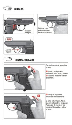 Pistola Aire Comprimido Walther Ppk/s Co2 4,5mm 15 Tiros