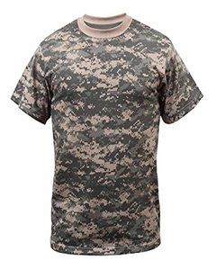 Remera Camuflada Digital Acu 44960