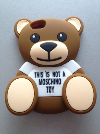 Silicona Oso Moschino Iphone