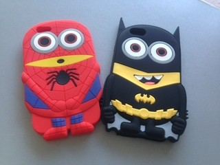 Silicona Minion Iphone 6