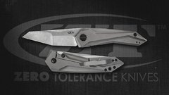 ZERO TOLERANCE 0055 GTC FLIPPER TITANIUM