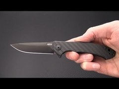 ZERO TOLERANCE 0450CF Small Sinkevich Titanium Carbon Fiber