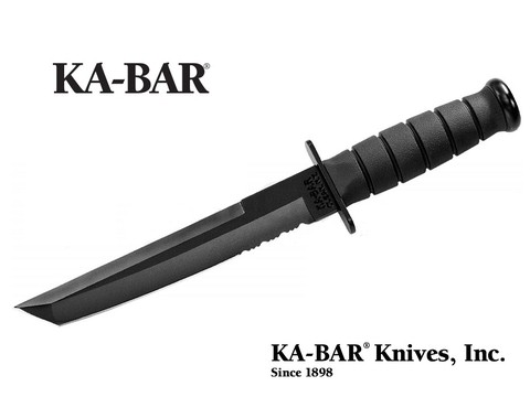 KA-BAR Cuchillo 1245 TANTO BLACK