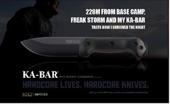 KA-BAR Cuchillo Becker BK2 Campanion