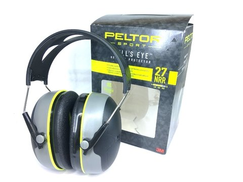 PELTOR PROTECTOR AUDITIVO BULLSEYE  27dB ORIGINALES