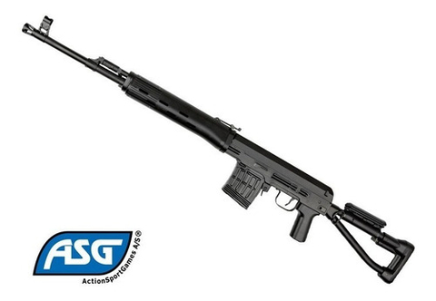 Rifle Airsoft Asg Dragunov 6mm Ultimos En Stock