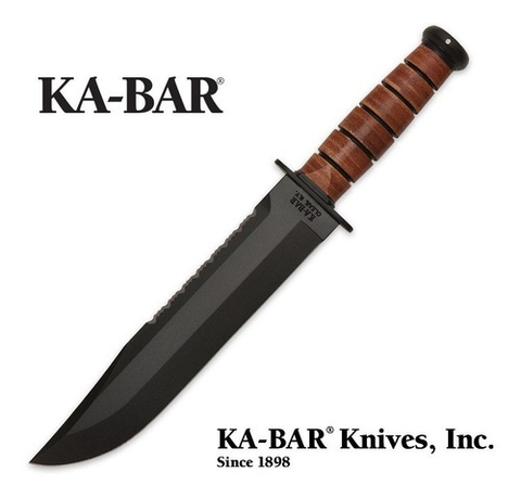 Cuchillo Ka-bar 2217 Usmc Big Brother Original Made In Usa