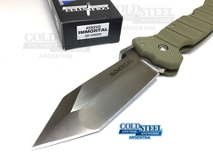 Navaja Defensa Cold Steel Inmortal Verde Od En Stock