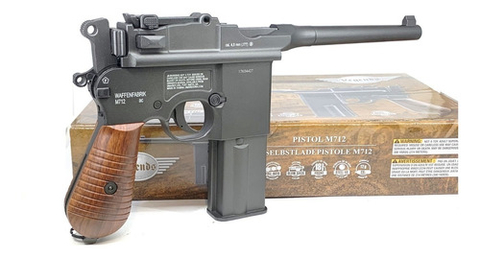 Pistola Gas Co2 Mauser M712 Full Auto 4,5mm Blowback Metal