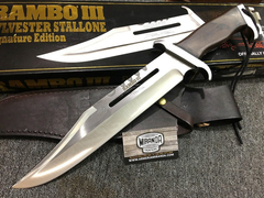 Cuchillo Rambo 3 Stallone Signature Series Original En Stock