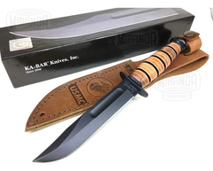 KA-BAR Cuchillo 1250 Short Usmc Original MADE IN USA