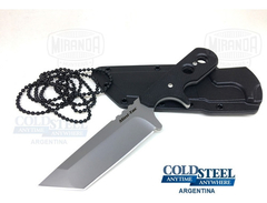 COLD STEEL Cuchillo Defensa MINI TAC TANTO Original
