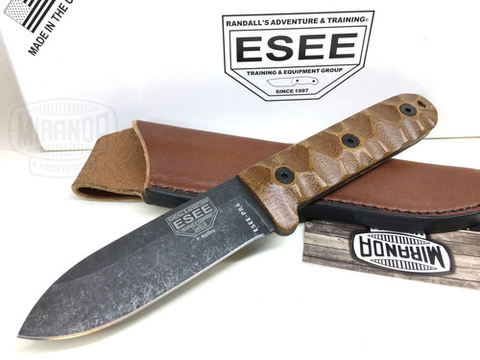 ESEE Cuchillo Bushcraft Esee PR4-BO Camp Lore Original MADE IN USA