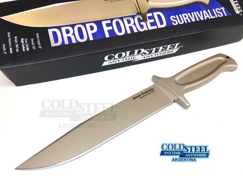 Cuchillo Forjado Cold Steel Drop Forged Survivalist En Stock