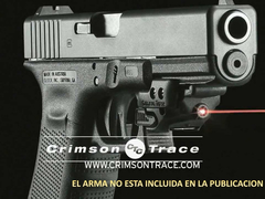 CRIMSON TRACE Laser Universal Para Riel Picatinny De Armas MADE IN USA
