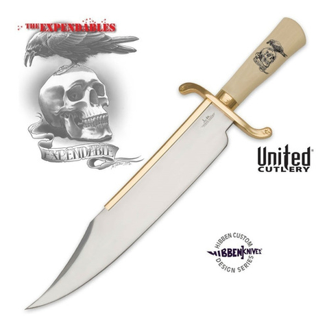 UNITED Cuchillo Bowie de Pelicula Expendables Indestructibles ORIGINAL