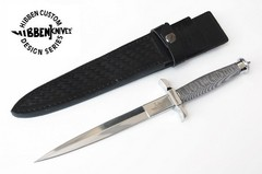 UNITED GIL HIBBEN Daga SILVER SHADOW Original
