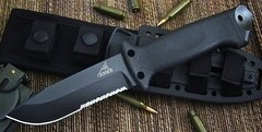 GERBER LMF 2 Infantry BLACK Cuchillo Militar MADE IN USA