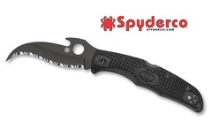 SPYDERCO Matriarch 2 Wave Black