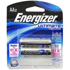 Pila Energizer Ultimate Lithium Aa Litio 1.5v
