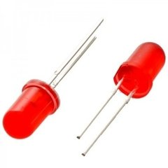 Led 5mm Rojo Difuso