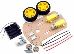 Kit Robot Arduino 2wd Rover Motor Ruedas Componentes  Ptec - PatagoniaTec Electronica