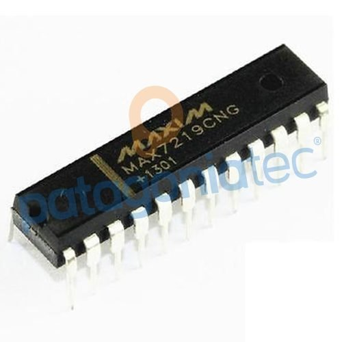 Circuito Integrado Max7219 Maxim Dip Driver Display Led Ptec
