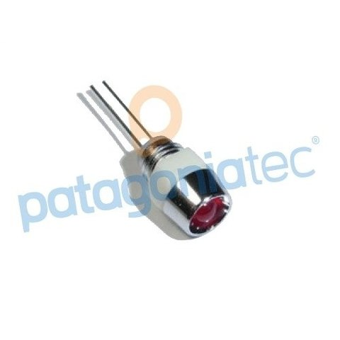 Led Portaled 5mm Plastico Holder Soporte Arduino Ptec