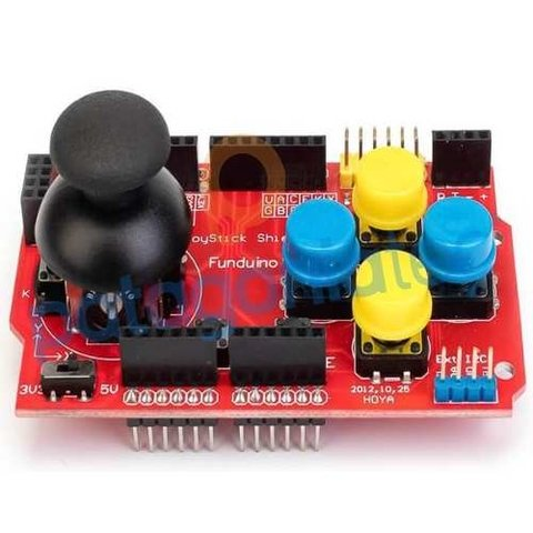Arduino Joystick Shield 7 Botones Interfaces 5v 3.3v Ptec - comprar online