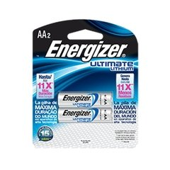 Pila Energizer Ultimate Lithium Aa Litio 1.5v - PatagoniaTec Electronica